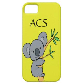 Monogramme de koala coques iPhone 5 Case-Mate