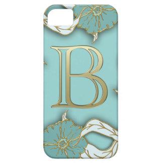monogramme de l'alphabet b coques iPhone 5