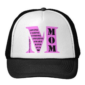 Monogramme de maman casquette de camionneur