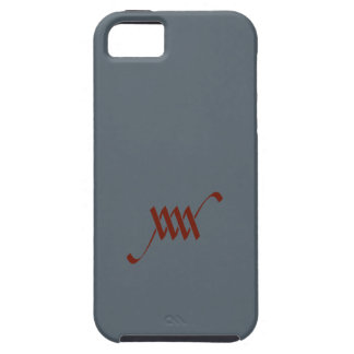 Monogramme de WM ou de MW Coque Tough iPhone 5