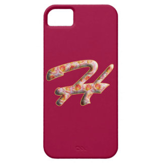 Monogramme H dans le motif Iphone de roses 5 cas Étuis iPhone 5