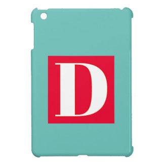 Monogramme lumineux et élégant d'alphabet coque iPad mini