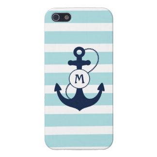 Monogramme nautique iPhone 5 case