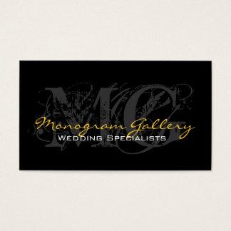 Monogrammes professionnels de cartes de visite