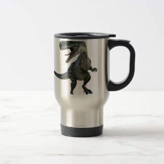 Monotophosaurus semblant droit mug de voyage