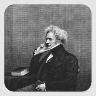 Monsieur John F.W. Herschel Sticker Carré