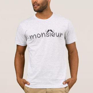 MONSIEUR - le T-shirt des hommes d'amusement