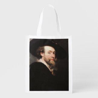 Monsieur Peter Paul Rubens - portrait de l'artiste Sac Réutilisable D'épcierie