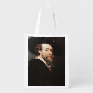 Monsieur Peter Paul Rubens - portrait de l'artiste Cabas Épicerie