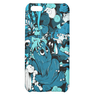 Monsters: Vector Kunst - iPhone 5C Cover