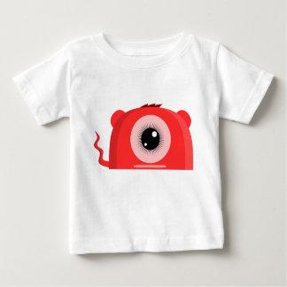 Monstre borgne mignon - T-shirt de bébé