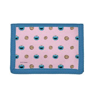 Monstre de biscuit et motif de rose de biscuits