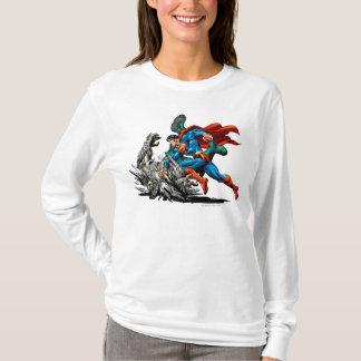Monstre de combats de Superman T-shirt