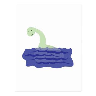 Monstre de Loch Ness Carte Postale