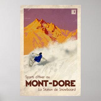Mont Dore - effet vintage