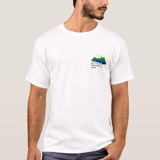 Montagne de Paris de ski T-shirt