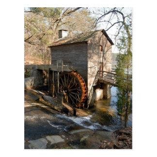 Montagne la Géorgie de pierre de moulin de blé à Carte Postale