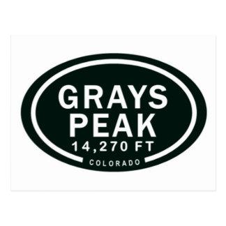 Montagne rocheuse de pi le Colorado de la crête Cartes Postales