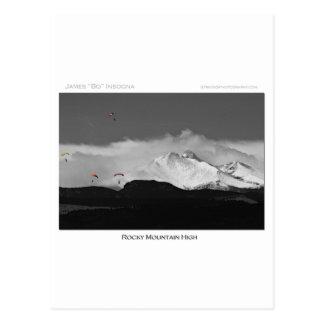 Montagne rocheuse du Colorado haute Carte Postale