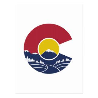 Montagne rocheuse le Colorado C Carte Postale