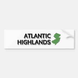 Montagnes atlantiques, New Jersey Autocollant De Voiture
