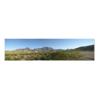 Montagnes de Chisos, le Texas Impression Photo