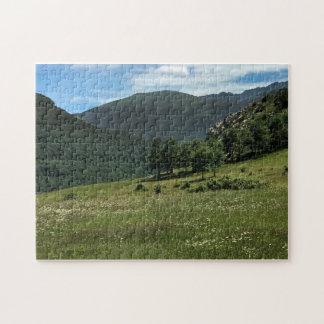 Montagnes de Shusha, puzzle de l'Arménie