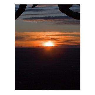 Montagnes rocheuses carte postale