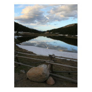 Montagnes rocheuses, carte postale du Colorado