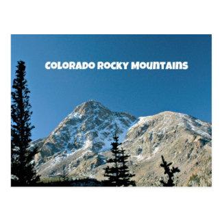 Montagnes rocheuses du Colorado Carte Postale