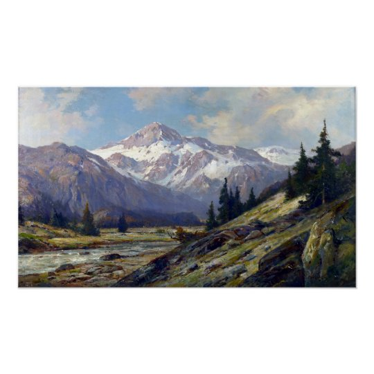 Montagnes rocheuses maximum de Cornélius Poster
