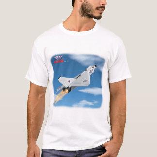 Montée T de dispositif de postcombustion de flèche T-shirt