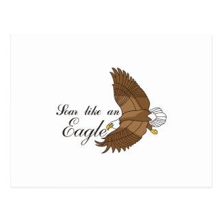 Montez comme Eagle Carte Postale