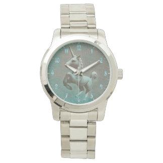 Montre Acier turquoise de la montre-bracelet | de licorne