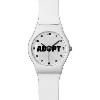 Montre Adoptez la montre-bracelet numérotée par chien de