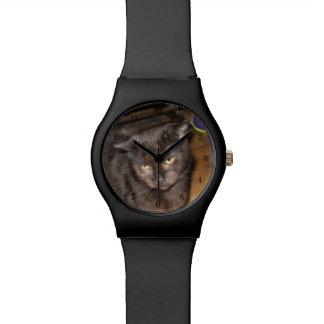 Montre Ah, ces yeux de chambre à coucher, chat noir