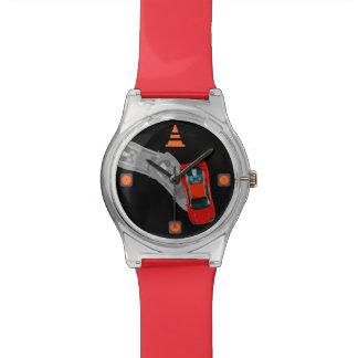 Montre AUTOX-Rouge