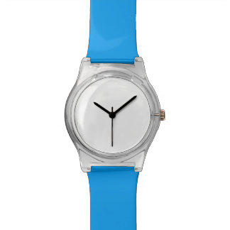 Montre bleue de May28th Montres Cadran
