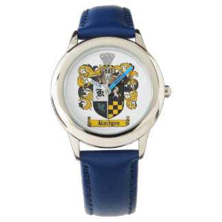 montre bleue d'enfants montres