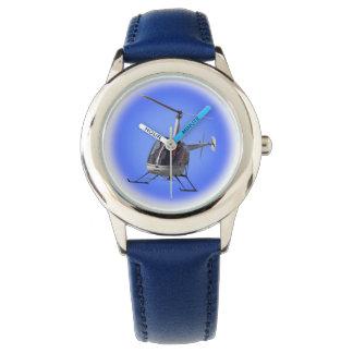 Montre-bracelet de l'hélicoptère des enfants de montres bracelet