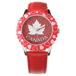 Montre-bracelet de souvenir du Canada de l'enfant Montres