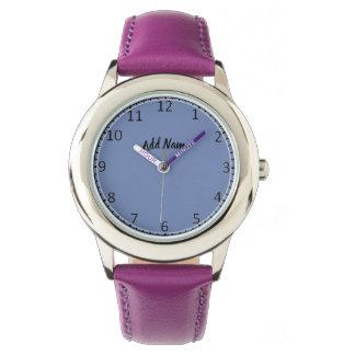 Montre-bracelet vide de visage de montre