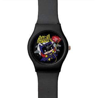 Montre Chibi Batgirl prêt pour l'action