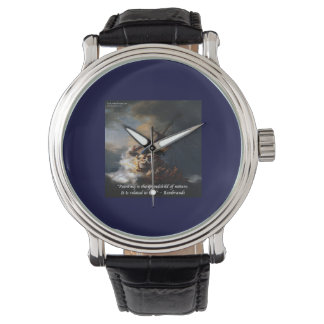 Montre Citation de nature de Rembrandt sur la mer de la