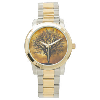 Montre d'arbre de nature