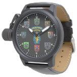 Montre de béret vert de forces spéciales montres cadran
