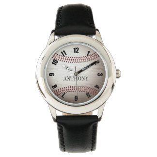 Montre de bracelet en cuir de l'acier inoxydable montres cadran