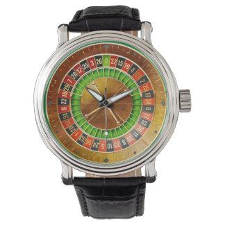 Montre de la roulette 1 et options de chiffre montres