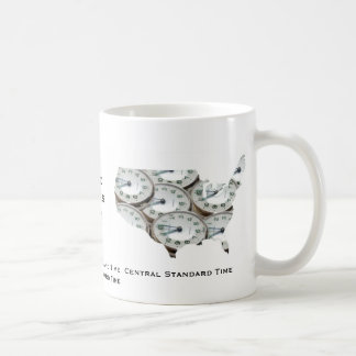 Montre de poche de fuseau horaire mug