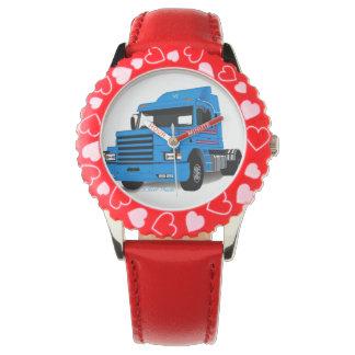 Montre d'enfants de camion montres bracelet